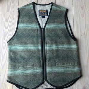 Woolrich Zip Up Vest